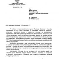 Odpowiedź Fundacji na zarzuty KG PSP